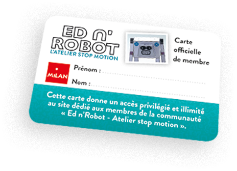 Carte de membre Ed n'Robot