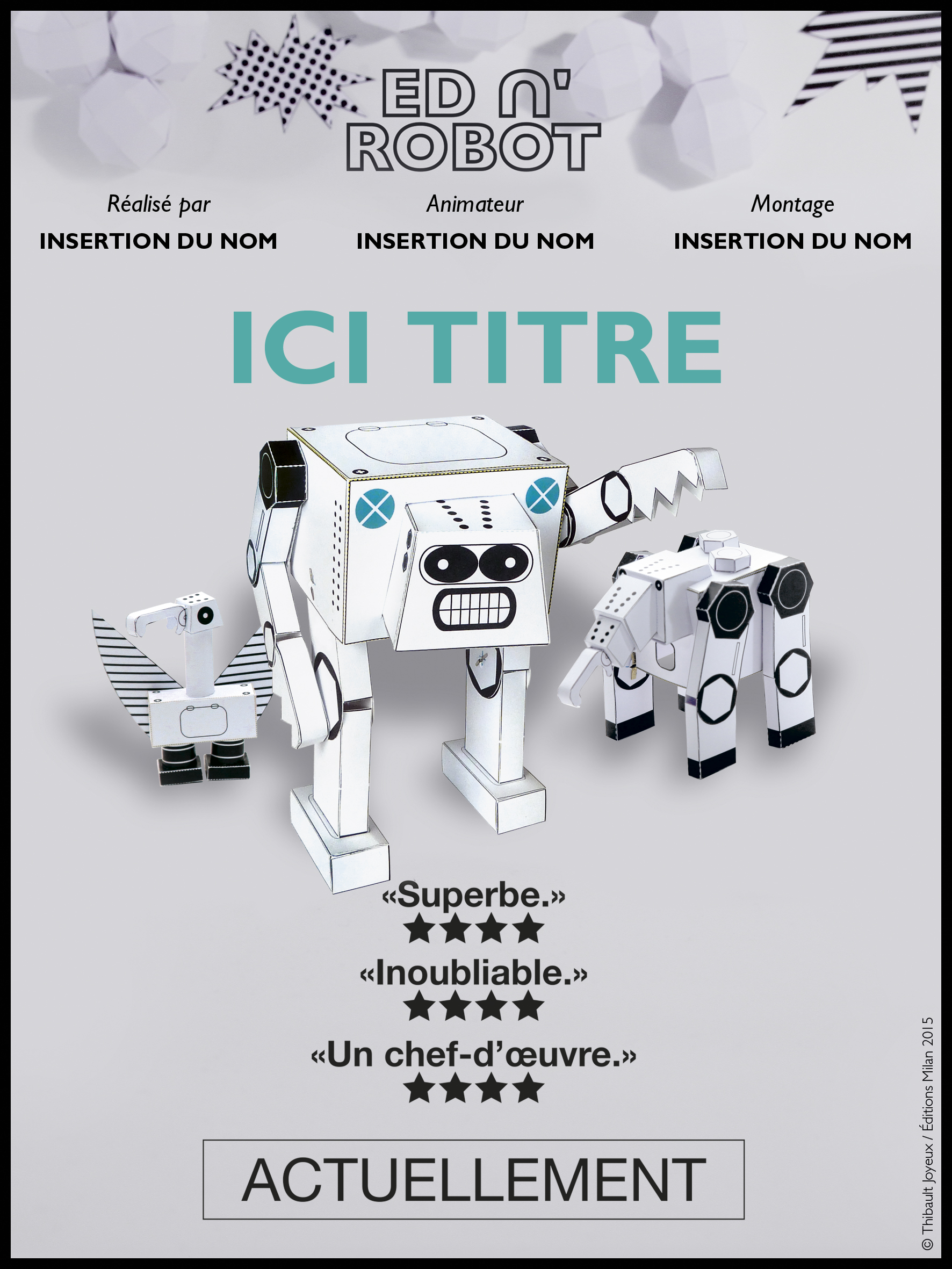 Ed n'Robot - Affiche 1