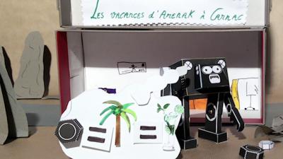 Aperçu de «Les vacances d'Arenak à Carnac»